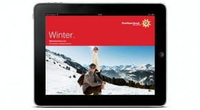 Winterwandelen met de Swiss Hiking App in Zwitserland